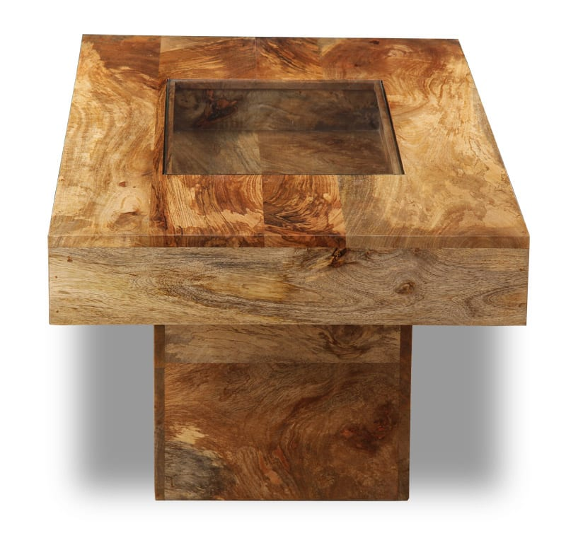 Light Dakota Large Pebble Coffee Table