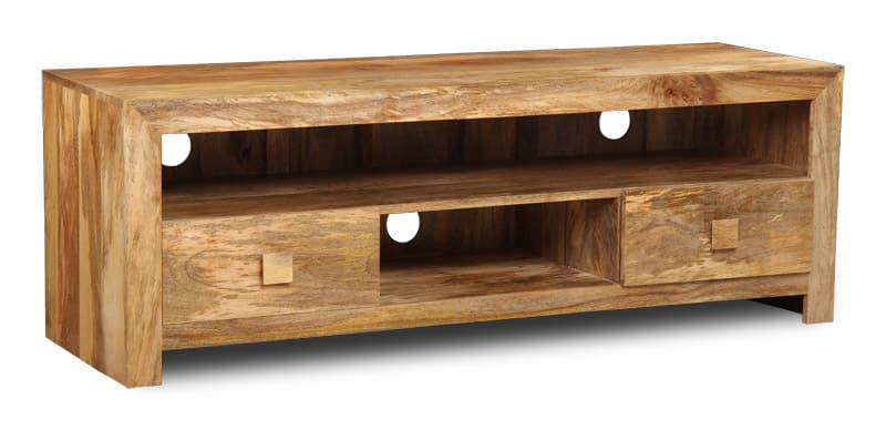 Light Dakota 2 Drawer Media Unit