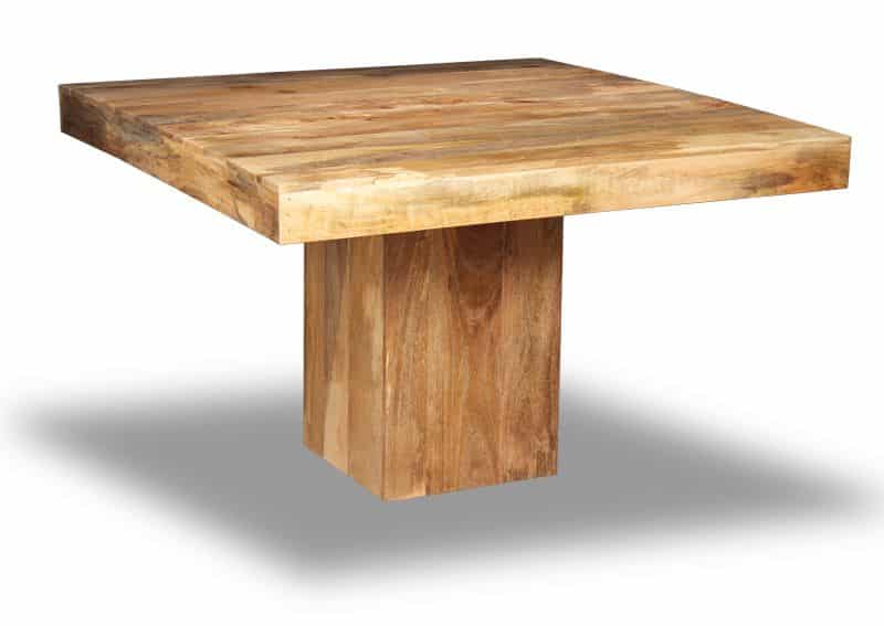 Light Dakota 120cm Cube Dining Table