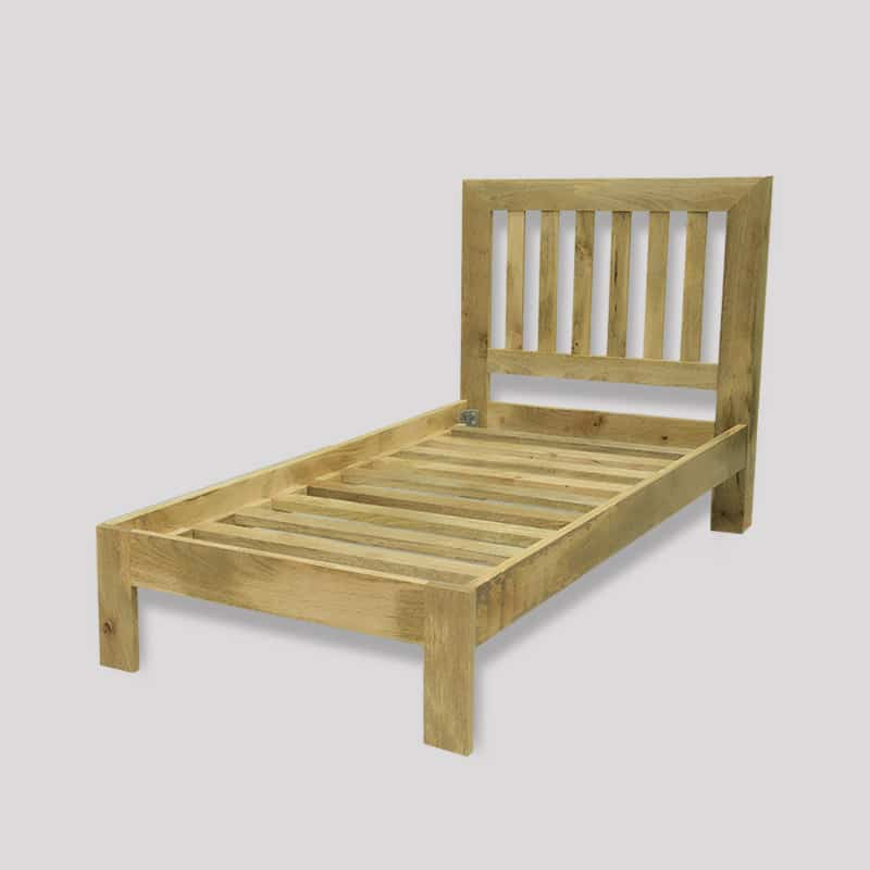 Light Dakota 3ft Single Bed