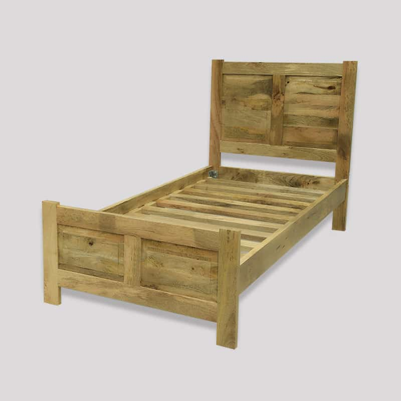 Light Dakota 3ft Bed